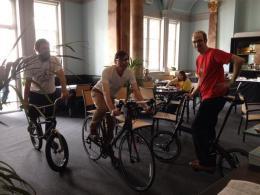 3 Bikes Cheltenham Sci Fest