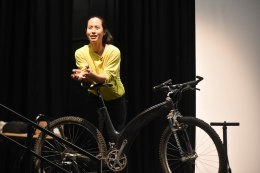 Viki describes how carbon fibre really works - as on the rare Lotus MTB