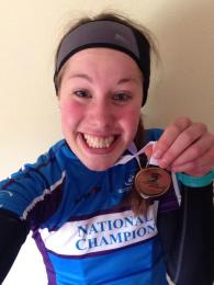 Ashleigh Fraser, Scottish National Junior Women's Road Race Champion 2014, reveals the winning diet